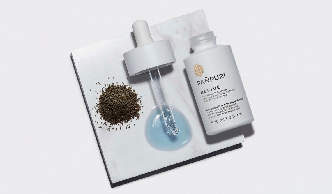 เรตินอล, bakuchiol, face oil