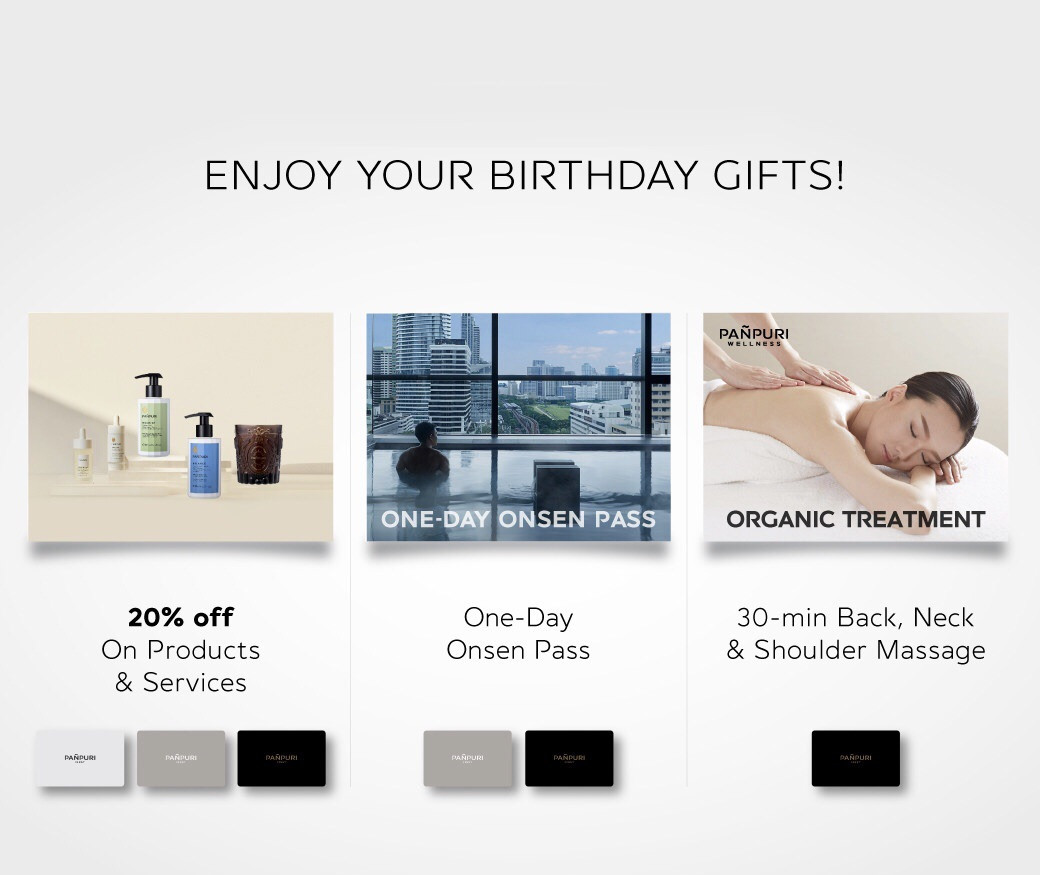 ENJOY YoUR BIRTHDAY GIFTS